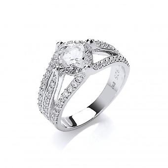 טבעת מכסף צרפתית