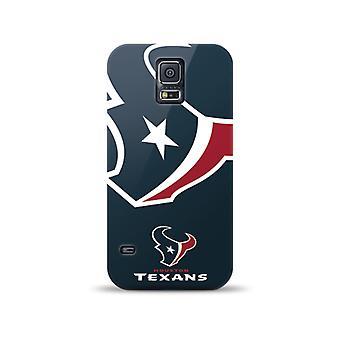 Mizco Sports NFL Oversized Snapback TPU Case for Samsung Galaxy S5 (Houston Texans)