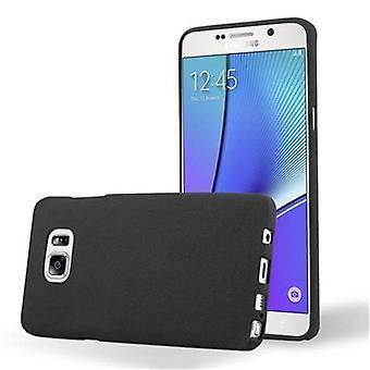 Cadorabo Hülle für Samsung Galaxy NOTE 5 Case Cover - Handyhülle aus flexiblem TPU Silikon – Silikonhülle Schutzhülle Ultra Slim Soft Back Cover Case Bumper