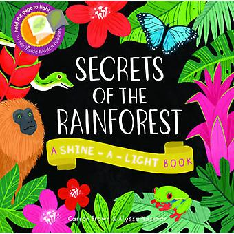Secrets of the Rainforest - A Shine-a-Light Book by Carron Brown - Aly