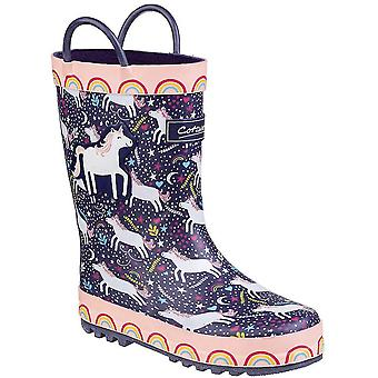 Cotswold Childrens/Kids Sprinkle Wellington Boots