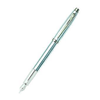 Sheaffer 100 Brushed Chrome/Chrome Pen
