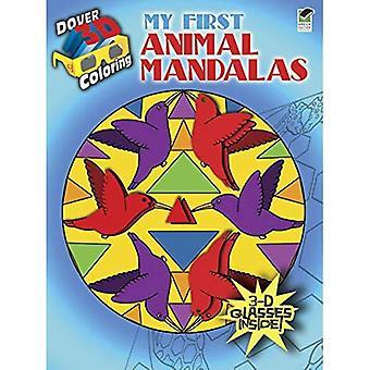 Libro da colorare 3-d - il mio primo Mandala animali