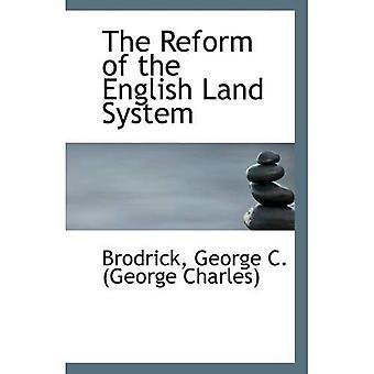 La réforme du système anglais
