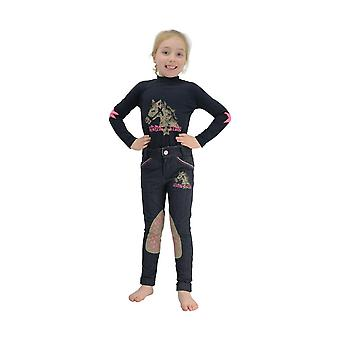 Little Rider Childrens/Girls Riding Star Long Sleeved Top