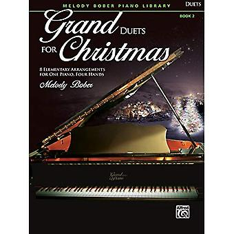 Grand duetter för jul, Bk 2:8 elementära arrangemang för ett Piano, fyra händer (Grand duetter för Piano)