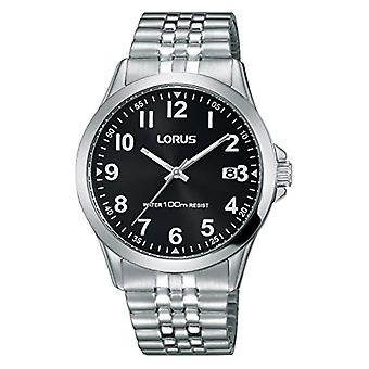 Lorus Watches Unisex analogue watch with metal plated stainless steel RS971CX9