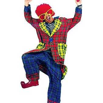 Comical Clown Adult Costume