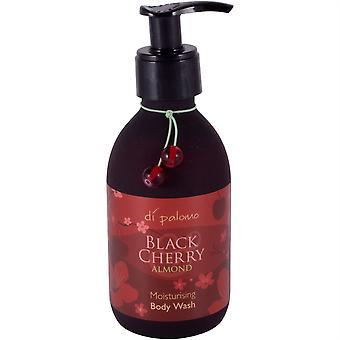Di Palomo Luxury gel de duș hidratant corp spălare 225ml-negru Cherry și migdale