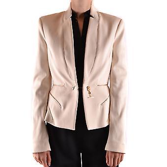 Elisabetta Franchi Ezbc050078 Women's White Nylon Blazer