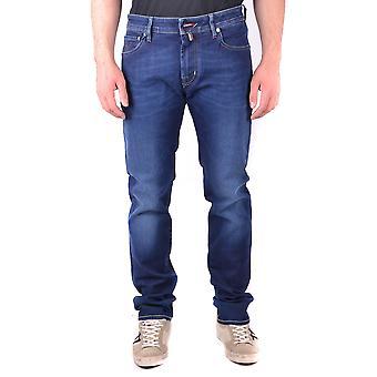 Jacob Cohen Ezbc054091 Men's Blue Cotton Jeans