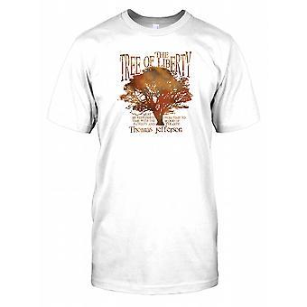 Treet frihet - Thomas Jefferson Kids T skjorte