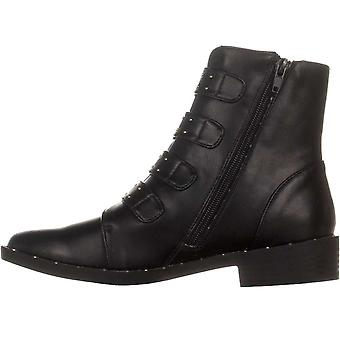 Bar III Womens Margo Closed Toe Ankle Combat Boots