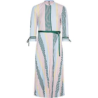 Tommy Hilfiger Tommy Hilfiger para mujeres lujo vestido plisado