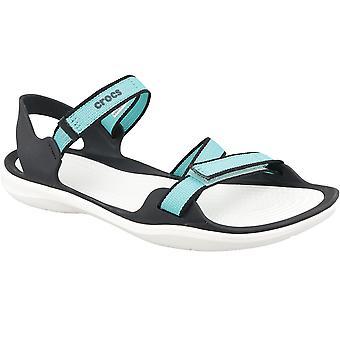 Sandali all'aperto di Crocs W Swiftwater Webbing sandalo 204804-4DY Womens