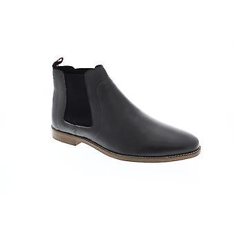Ben Sherman Gabe Chelsea  Mens Gray Leather Slip On Boots