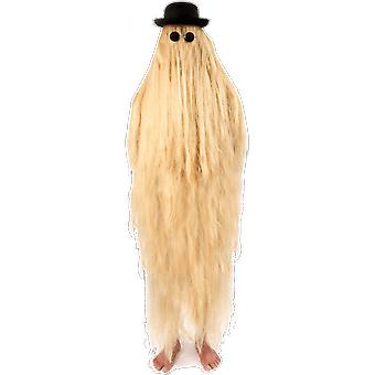 Adult Hairy Relative Cousin Itt Addams Family Halloween Fancy Dress Costume