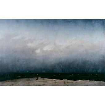 Monk by the Sea,J. M. W. Turner,60x38cm