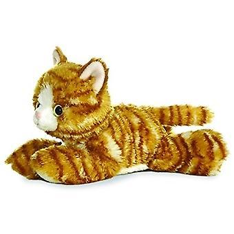 """Aurora maailma 8 """"Mini Flopsie pehmo Molly oranssi Tabby kissa"""