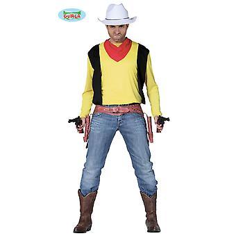 Hommes chemise et serviette de cow-boy Far West Joey Gunslinger