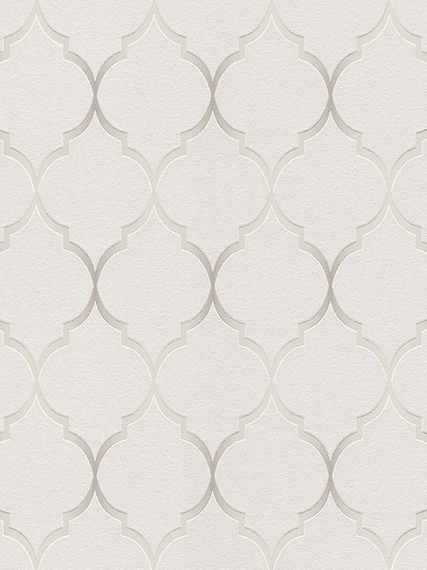 Fretwork Geometric Wallpaper Rasch