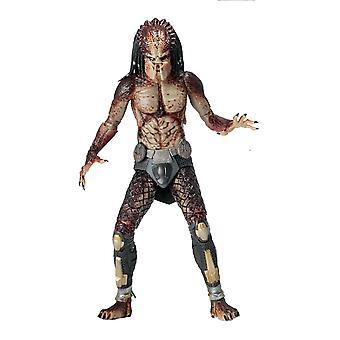 Predator 7- Actionfigur Ultimate Fugitive Predator II Lab Escape. Material: Kunststoff, Hersteller: NECA