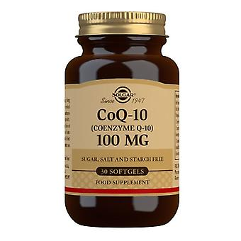 سولغار CoQ-10 100mg Softgels 30 (947)