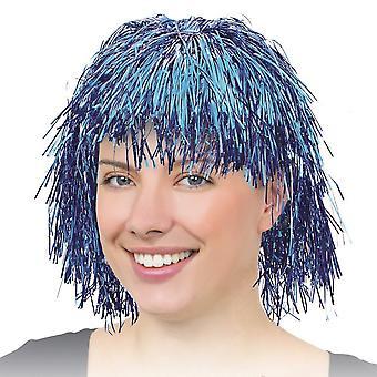 Bristol Novelty Unisex Tinsel Wig