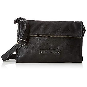 Fritzi AUS Preussen Canby-sacos de ombro das mulheres negras (preto) 30x7x 20.5 cm (W x H L)