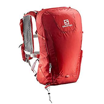 Salomon L40119000 - Light Backpack from Hiking 20 l Peak 20 Unisex Adult - Red/Dark Grey