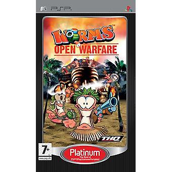 Worms open Warfare (PSP)-fabriek verzegeld