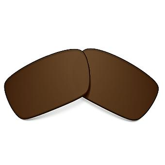 Replacement Lenses for Oakley Crankshaft Sunglasses Dark Brown Anti-Scratch Anti-Glare UV400 by SeekOptics