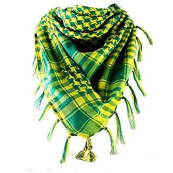 Yellow And Green Scarf