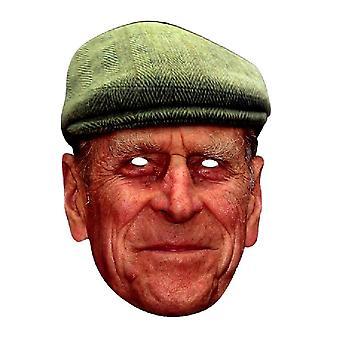 Principe Filippo con la maschera di cappello