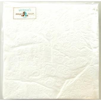 Estructura de servilletas blanco 2 paquete (40pcs servilletas)