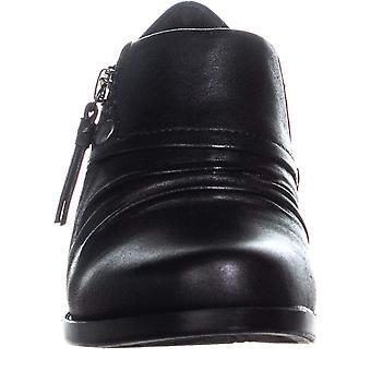 Bare Traps Womens Rafaella Leather Closed Toe Casual Slide Sandals