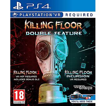 Killing Floor Double Feature For PS VR PS4 Game
