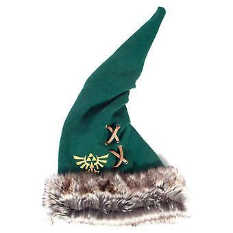 Legend of Zelda Furry Pointy Beanie Unisex Green/Brown (KC622812ZEL)