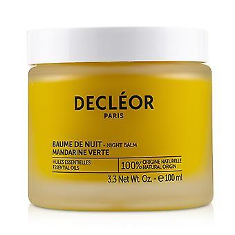 Decleor groene Mandarijn gloed nacht balsem (Salon grootte)-100ml/3.3 oz