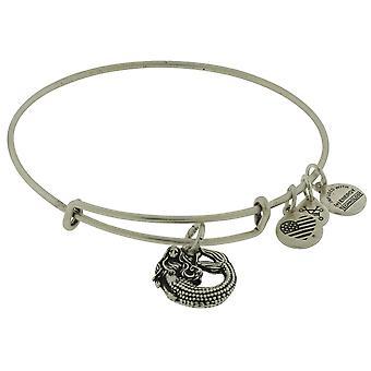 Alex and Ani Mermaid Bangle Bracelet - Rafaelian Silver - A17EB74RS