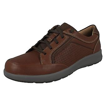 Mens Clarks Casual Lace Up Chaussures Un Trail Form