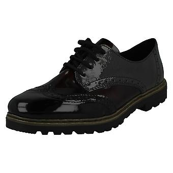 Ladies Rieker Lace opp brogues M4823