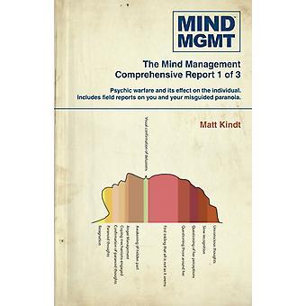 Mind Mgmt Omnibus Part 1 by Matt Kindt