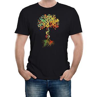 Realität glitch Baum des Lebens Herren T-shirt