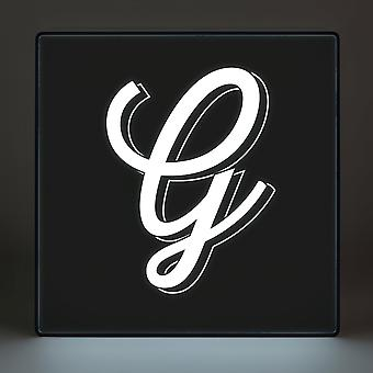 G Alphabet Lightbox
