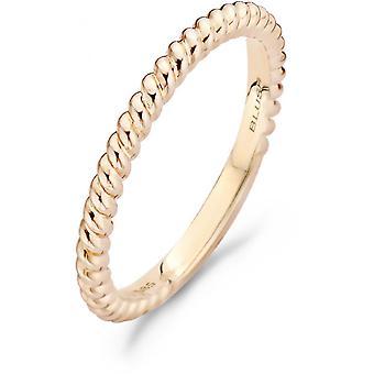Blush Ring 11189RGO - Gold Ring pink torad 2mm Women