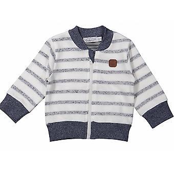 Dirkje Jongens Cardigan Blue Stripes