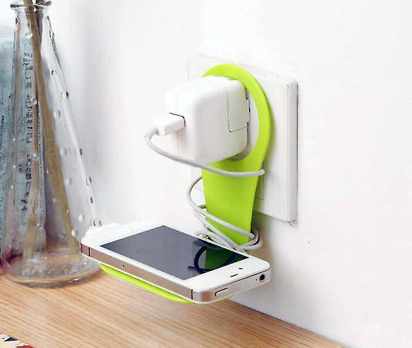 Häng laddare för din Iphone samsung vit sladd