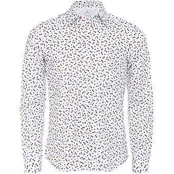 Paul Smith op maat gemaakte paardebloem shirt