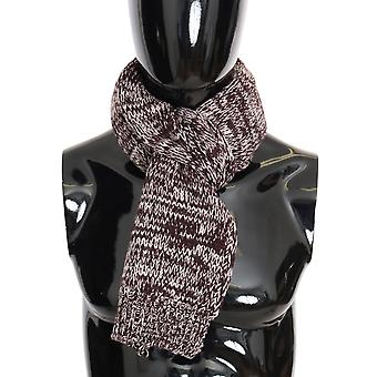 Dolce & Gabbana Bordeaux Wool Knitted Scarf